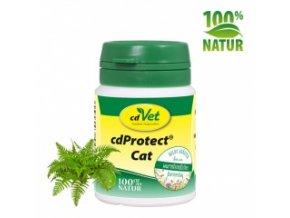 Odčervovací byliny pro kočky - cdVet