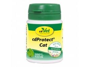 Odčervovací byliny pro kočky 25 g - cdVet