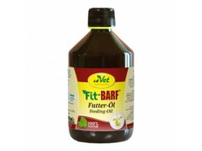 Lněný olej pro psy a kočky 500 ml - cdVet