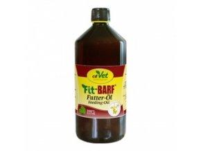 Lněný olej pro psy a kočky 1000 ml - cdVet