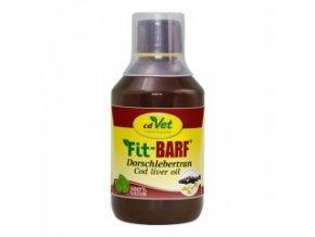 Olej z tresčích jater pro psy a kočky 250 ml - cdVet