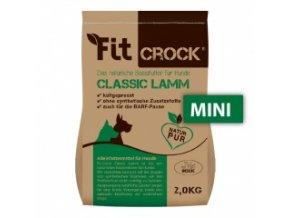 Fit-Crock Classic Jehněčí - granule lisované za studena - MINI 2 kg