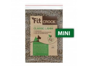 Vzorek & Pamlsek Fit-Crock Classic Jehněčí - MINI 200 g