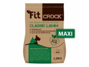 Fit-Crock Classic Jehněčí - granule lisované za studena - MAXI 2 kg