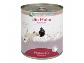 Konzerva pro psy a kočky - Kuřecí maso (Bio) 800 g