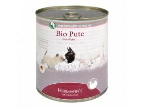 Konzerva pro psy a kočky - Krůtí maso (Bio) 800 g