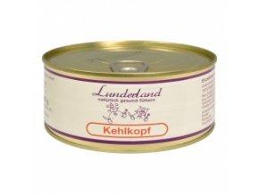 Konzerva pro psy a kočky - Hovězí hrtan - Lunderland - 300 g