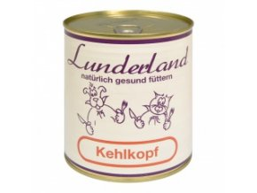 Konzerva pro psy a kočky - Hovězí hrtan - Lunderland - 800 g