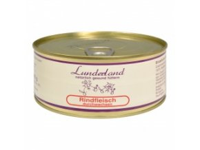 Konzerva pro psy a kočky - Hovězí prorostlé - Lunderland - 300 g