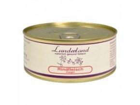 Konzerva pro psy a kočky - Hovězí libové - Lunderland - 300 g