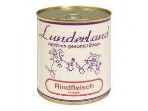 Konzerva pro psy a kočky - Hovězí libové - Lunderland - 800 g