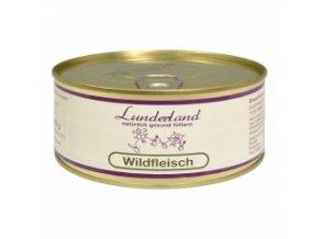 Konzerva pro psy a kočky - Zvěřina - Lunderland - 300 g