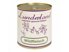 Konzerva pro psy a kočky - Zvěřina - Lunderland - 800 g