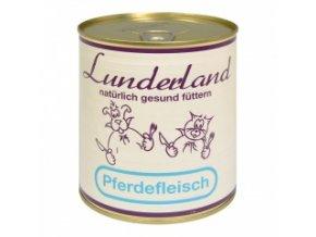 Konzerva pro psy a kočky - Koňské maso - Lunderland - 800 g