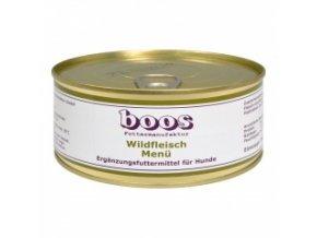 Konzerva pro psy - Divočina s rýží a zeleninou - BOOS - 300 g