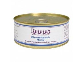 Konzerva pro psy - Koňské maso s bramborem - BOOS - 300 g