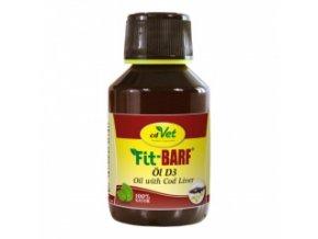 Rybí olej pro psy a kočky 100 ml - cdVet
