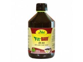 Rybí olej pro psy a kočky 500 ml - cdVet