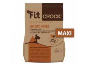 Fit-Crock Basic Hovězí - granule lisované za studena - MAXI 2 kg