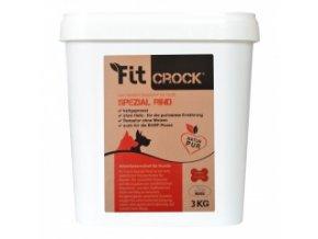 Fit-Crock Special Hovězí - granule lisované za studena - MIDI 3 kg