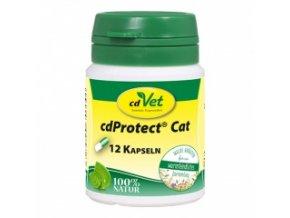 Odčervovací byliny pro kočky - 12 kapslí - cdVet