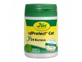 Odčervovací byliny pro kočky - 24 kapslí - cdVet