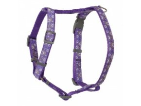 Kšíry pro psy fialové – OH 40 až 70 cm / 20 mm