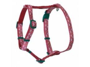 Kšíry pro psy růžové – OH 40 až 70 cm / 20 mm