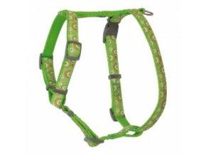 Kšíry pro psy zelené – OH 40 až 70 cm / 20 mm