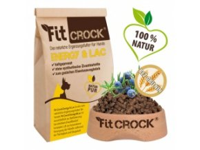 Fit-Crock Energy & Lac - granule lisované za studena - 3 kg