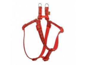 Popruhové kšíry EKG červené 15 mm / OH: 32-46 cm