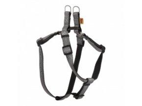 Popruhové kšíry EKG šedé 10 mm / OH: 26-38 cm