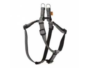 Popruhové kšíry EKG šedé 15 mm / OH: 32-46 cm