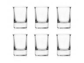 Sada 6 panáků na alkohol elegant - 50ml