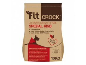 Fit-Crock Special Hovězí - granule lisované za studena - MIDI 10 kg