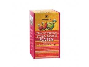 SONNENTOR Ovocné variace - poznávací sada 20 čajů bio v 11 ovocných variacích