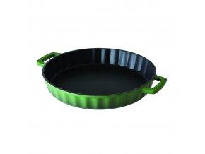 Litinová forma kulatá 30 cm - zelená