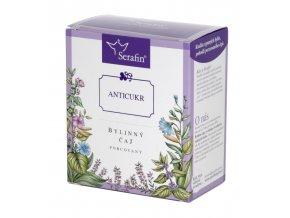 Anticukr bylinný čaj porcovaný