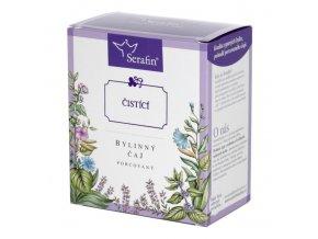 Čistící bylinný čaj porcovaný