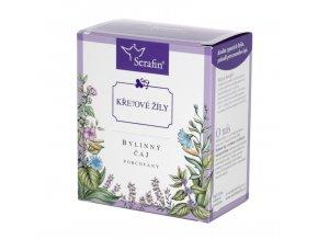 Křečové žíly bylinný čaj porcovaný