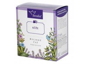 Kůže bylinný čaj porcovaný