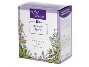 Ledviny ženy bylinný čaj porcovaný