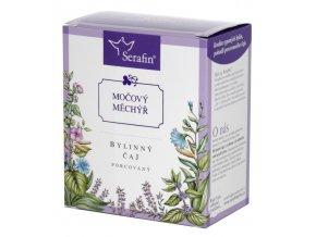 Močový měchýř bylinný čaj porcovaný
