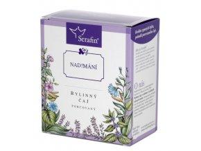 Nadýmání bylinný čaj porcovaný
