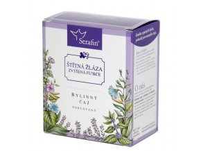 Štítná žláza zvýšená funkce bylinný čaj porcovaný