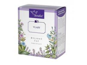 Vlasy bylinný čaj porcovaný