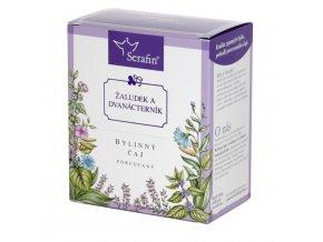 Žaludek a dvanácterník bylinný čaj porcovaný