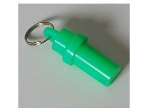 adresar na obojek psa plastovy zeleny small product