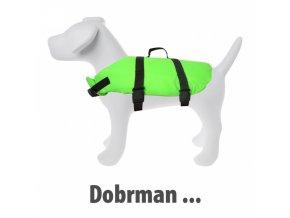 plovaci vesta pro psa velikost 4 original