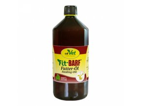 cdvet fit barf lneny krmny olej 1000 ml original